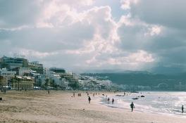 Playa de Las Canteras - pludmale pašā Las Palmas pilsētā